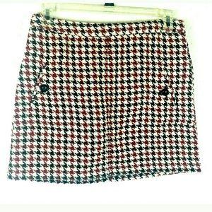 Xhilaration women's houndstooth skirt